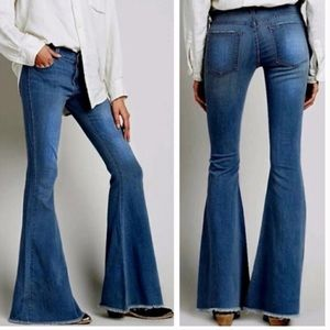 AC FOR AG SKIN 5 Flare Jeans NWT